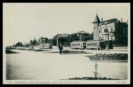 PORTO - FOZ - (Foz Do Douro) - Avenida Montevideu ( Ed. JO Nº 226) Carte Postale - Porto