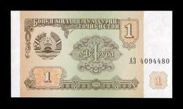 Tajikistan 1 Ruble 1994 Pick 1 SC UNC - Tadzjikistan