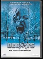 DVD - DECOYS - THRILLER HORROR - LINGUA ITALIANA E INGLESE - DOLBY - Horreur