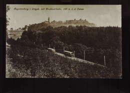 DR:  Ak Mit 8 Pf Beethoven EF 1930 Augustusburg Erzgeb. Drahtseilbahn Schloßgastwirtschaft Mit SoStpl. - Brieven En Documenten