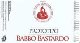 étiquette Neuve Bière Babbo Bastardo Brasserie Grain D'orge Hombourg - Beer