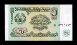 Tajikistan 50 Rubles 1994 Pick 5 SC UNC - Tayikistán
