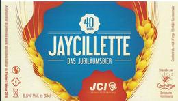 étiquette Neuve Bière Jaycillette Brasserie Grain D'orge Hombourg - Beer