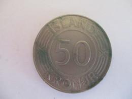 Iceland: 50 Kronur 1971 - Islande