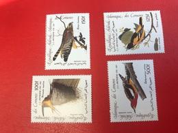 COMORES 1985 ** YT PA Aerien Mail 207 208 209 210 Oiseau Bird COMOROS KOMOREN - Comoros