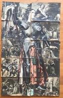 Jeanne D'Arc - Sa Vie En 10 Cartes Postales Animée Colorisée Puzzle Complet (petit Prix, à Saisir) - Donne Celebri