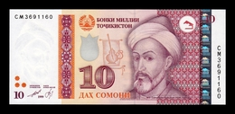 Tajikistan 10 Somoni 1999 (2013) Pick 24 SC UNC - Tadzjikistan