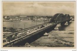 AK  Düsseldorf Straßenbahn Bei Gesolei Auf Rheinbrücke 1926  Ansichtskarte - Duesseldorf