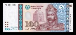 Tajikistan 100 Somoni 1999 (2013) Pick 27a SC UNC - Tayikistán