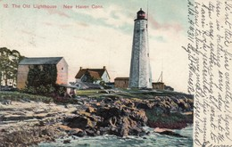 NEW HAVEN , Conn. , 1908 ; LIGHTHOUSE - Lighthouses