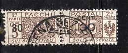 Q195 - REGNO 1923 , Pacchi Postali 30/5 Cent N. 20 Usato (M2200) - Postal Parcels
