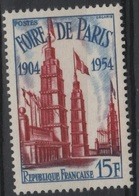 FR 1187 - FRANCE N° 975 Neuf** 1er Choix Foire De Paris - Ungebraucht