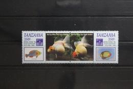 Tansania 1722-1723 ** Postfrisch #TV856 - Tanzania (1964-...)