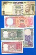 Inde  10  Billets - Inde