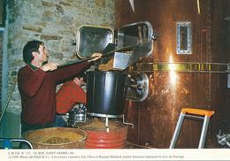 Le Roc Saint Andre (56) Cervoiserie Lancelot - France