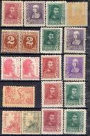 ESPAGNE  ! Timbres Anciens NEUFS De 1937 Et 1938 ! VARIÉTÉS - 1931-Today: 2nd Rep - ... Juan Carlos I