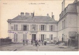 MEUDON : T.RARE CLICHE DE LA MAIRIE 1913.ANIMEE . N° 1. PETITES TACHES ENCRE.BELLE COTE.PETIT PRIX.COMPAREZ! - Meudon