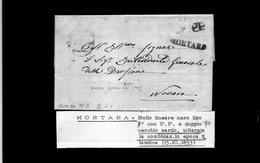 CG20 - Lett. Da Mortara X Novara 15/10/1853 - Italia