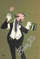 Illustrateur Albert DUBOUT- BONNE FETE - Dubout