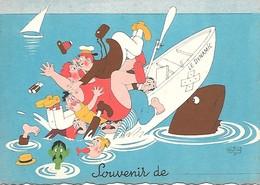 Illustrateur Albert DUBOUT-  SOUVENIR - Dubout