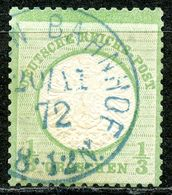 """Nr. 17  K 1 """"BREMEN BAHNHOF"""" In Blau Geprüft BPP - Deutschland"""