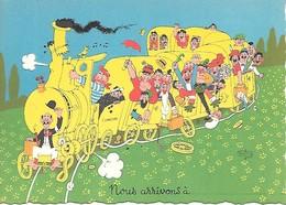 Illustrateur Albert DUBOUT-  NOUS ARRIVONS - Dubout