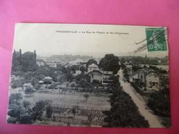C P A ----95-----FRANCONVILLE------la Rue Du Plessis Et Les Lotissements - Franconville