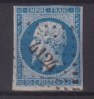 """FRANCE : PC 4124 . """" BUSSANG """" . (82) . N° 14 . B . ( CATALOGUE MATHIEU ) . - Marcophily (detached Stamps)"""
