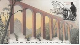 1346. LE MONDE DU TRAIN - FDC