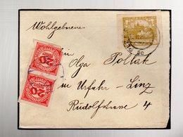 Taxe Sur Lettre De Tchecoslovaquie :  Hradcany  16/3/1920 - Taxe