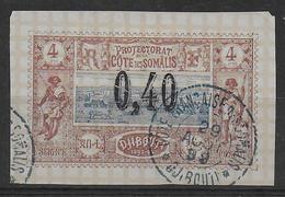 COTE DES SOMALIS - YVERT N° 22 OBLITERE - COTE = 55 EUR. - - Oblitérés