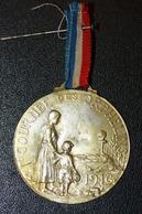 """WW1 Insigne Médaille De Poilu Grande Guerre 14/18 """"Journée Des Orphelins 1916"""" WWI - 1914-18"""