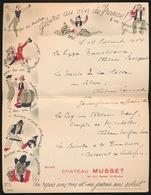 MENU  GLORIE AU VIN DE FRANCE 1954    27 X 21 CM - Menus