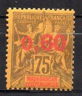 Col17  Colonie Madagascar N° 122 Neuf X MH Cote 20,00€ - Neufs