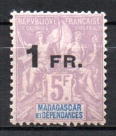 Col17  Colonie Madagascar N° 123 Neuf XX MNH Cote 5,00€ - Neufs