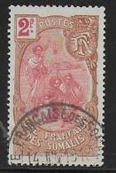 COTE DES SOMALIS - YVERT N°81 OBLITERE - COTE = 44 EUR. - Oblitérés