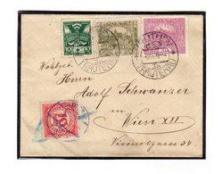 Taxe Sur Lettre De Tchecoslovaquie : Hradcany  Lettre  6/8/1920 - Taxe