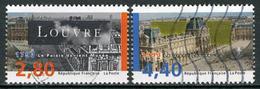 N° YT 2851-2852 - Musée Du Louvre (1993) - Usados