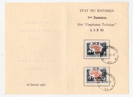 Katanga 50/51 1er Jour First Day - Katanga