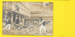 """Carte Photo Montage """"La Rage Des Elections"""" (Ouvrard 1910) As De Trèfle - Political Parties & Elections"""