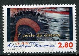 N° YT 2922 - 1er Siècle Du Cinéma (1995) - Usados