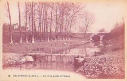 Maine Et Loire        670        Champtocé.Les Deux Ponts Et L'étang - Francia
