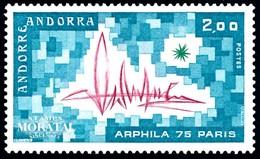 [24] 1975 Französisch Andorra Mi 269 Belichtung  ** Perfekter Zustand  (Michel) - Nuevos