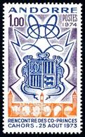 [24] 1974 Andorre Francais Yv 239 Co-princes  **MNH  TTB Très Beau  (Yvert&Tellier) - Nuevos