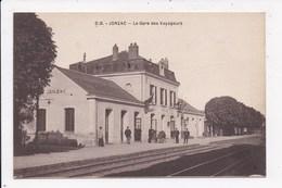 CP 17 JONZAC La Gare Des Voyageurs - Jonzac