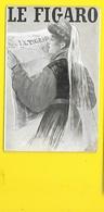 Femme Et Journal LE FIGARO (Simonidy) - Andere Zeichner
