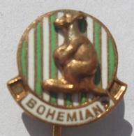 FC BOHEMIANS Praha Czechoslovakia CZECH FOOTBALL CLUB, SOCCER / FUTBOL / CALCIO PINS BADGES P4/1 - Football