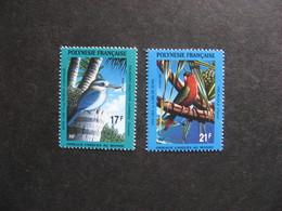 Polynésie: TB Paire N° 383 Et N° 384, Neufs XX. - Polynésie Française