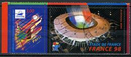 N° YT 3077 - Coupe Du Monde Football (1998) - Oblitérés