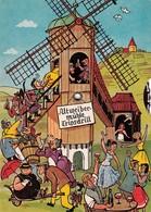 """TRIPSDRILL Bei Cleebronn Brackenheim ~1952 MECHANISCHE Dreh-AK  """" Altweibermühle """" - Deutschland"""